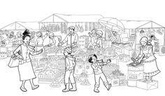 Illustrator Saturday – Chantelle and Burgen Thorne Bookstagram, Childrens Books, Illustrators, Africa, Diagram, Graphic Design, Teaching, Black And White, Artist