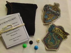 Harry Potter homemade game.  I could use this idea to make games out of all my favorites....
