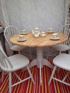 13 best shabby chic table an chairs images shabby chic furniture rh pinterest com