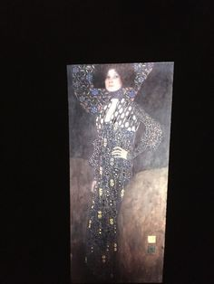 "Gustav Klimt ""Emile Floge 1902"" Austrian Art Nouveau 35mm Glass Art Slide  