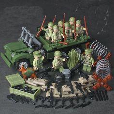 Lego Ww2, Lego Soldiers, Lego Army, Legos, Army Men Toys, Nerf Toys, Lego Blocks, Custom Lego, Cool Lego