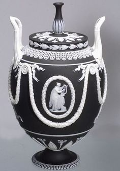 Jasperware is one of Wedgwood's crowning achievements, and is highly acclaimed for revolutionizing ceramic art.