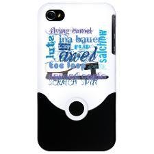 Language of Skating iPhone Case