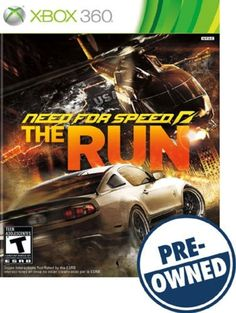 Need for Speed: The Run — PRE-Owned - Xbox 360, PRE OWNED