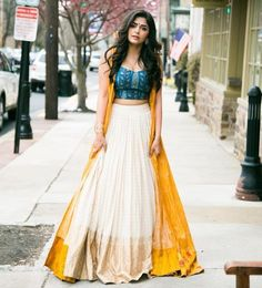 Latest Jacket Style Lehenga Designs - Will Catch Everyone's Attention - Designer Dresses Couture Indian Attire, Indian Wear, Indian Outfits, Indian Clothes, Indian Lehenga, Anarkali Lehenga, Ghagra Choli, Lehenga Choli Online, Indian Gowns Dresses