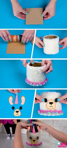 Discover recipes, home ideas, style inspiration and other ideas to try. Kids Crafts, Diy Crafts For Girls, Diy Crafts To Sell, Cardboard Crafts, Paper Crafts, Llama Decor, Do It Yourself Baby, Llama Gifts, Llama Birthday
