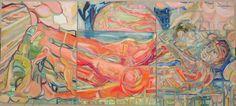 Triptych Burglar Turned Muse, George Dyer w/ Francis Bacon , Laura Davis