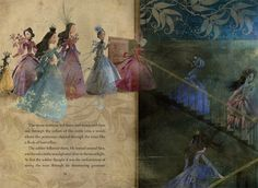 The Twelve Dancing Princesses maybe silver in the moonlight?
