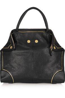 Alexander McQueen  Faithful De Manta leather tote