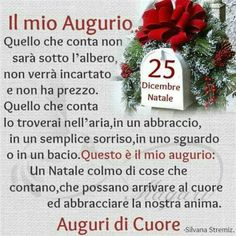 Buon Natale Christmas Scenes, Christmas Mood, Christmas Wishes, Christmas Wreaths, Merry Christmas, Italian Quotes, Happy New Year 2019, Xmas Cards, New Years Eve