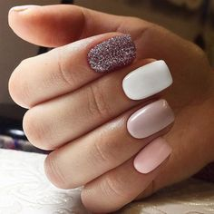42 Perfect Winter Nails for the Holiday Season and more ★ Cute Winter Nails in Pink Shades Picture 5 ★ See more: http://glaminati.com/perfect-winter-nails-holiday-season/ #winternails #naildesign