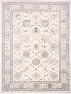 """Tabriz Design Persian Rug 60 Raj 9' 9"""" x 13' 2"""""""