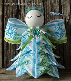 Angel Quilted Ornament (inspiration)