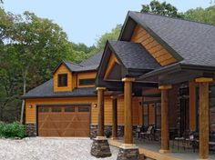 This house features LP SmartSide siding and shakes in Diamond Kote Maple - contemporary - exterior - other metro - Diamond Kote Wood Siding House, Cedar Siding, Exterior Siding, Exterior Remodel, Exterior House Colors, Exterior Design, Siding Colors, Vinyl Siding, Lp Smart Siding