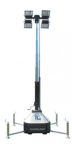 LICHTMAST 4X 400W ZONDER AGGREGAAT  De Towerlight CTF 10 meter statief lichtmast   Deze mobiele lichtmast is eenvoudig uitgevoerde robuuste mobiele statief lichtmast.  en kan gebruikt worden in veel uiteenlopende toepassingen.    Specificaties:  - Verlichting: 4x 400 Watt GO   - Maximale hoogte : 10 meter  - Verlichtingsoppervlakte: 2000 m²