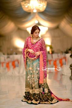 Pakistani Bridal Wear - Rana Noman Bridal
