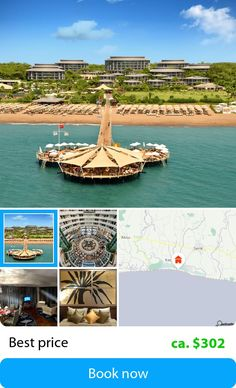 Calista Luxury Resort (Belek, Turkey) – Book this hotel at the cheapest price on sefibo.