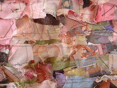 avril ou loptimisme - 81 x 140 cm . detail . by barbara wisnoski