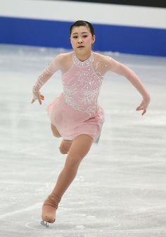 Kanako Murakami - Pink Figure Skating / Ice Skating dress inspiration for Sk8 Gr8 Designs.