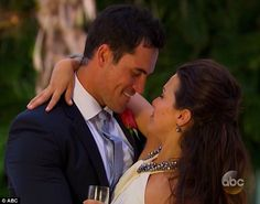 Wedding bells: After the show, Josh told host Chris Harrison he wants to marry Andi next s...