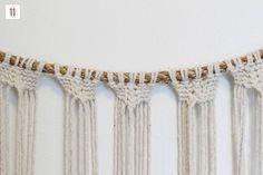 DIY Macrame Hanging | Green Wedding Shoes Wedding Blog | Wedding ...