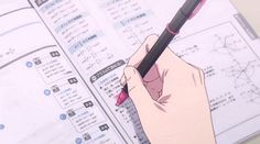 Animated gif uploaded by taehy. Find images and videos about pink, gif and anime on We Heart It - the app to get lost in what you love. Aesthetic Images, Aesthetic Anime, Aesthetic Wallpapers, Anim Gif, Animated Gif, Old Anime, Anime Art, Studying Gif, Main Manga