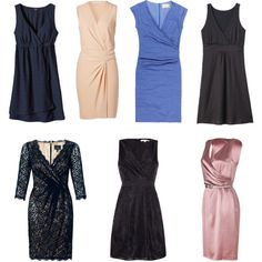 """""""Best dresses for Apple body shape"""" by zimolong-maria on Polyvore"""