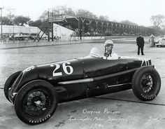 Overton Phillips qualified for the 1941 Indy 500.