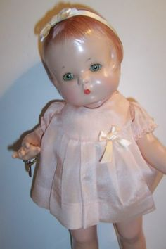 Effanbee Compo Patsy with Fur Coat and Wrist Tag   eBay