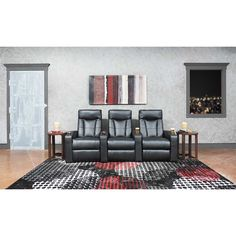 Hollywood 3PC Theater Sectional 1G1-955PWR-3PC