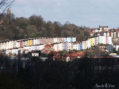 Most Colorful Places: Bristol, England (source: wiki) Cabot Tower, Places Around The World, Around The Worlds, Clifton Bristol, Bristol Cars, Bristol Fashion, Places To Travel, Places To Visit, Homes England