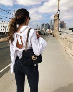 A Gucci Marmont Bag