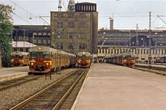 Rautatieasemalla Railway station, Helsinki, Finland, in History Of Finland, Map Pictures, Good Old Times, Capital City, Helsinki, Homeland, Time Travel, Nostalgia, The Past