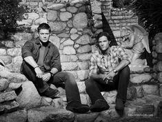 Supernatural - Promo shot of Jensen Ackles & Jared Padalecki