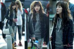2NE1 Dara airport fashion