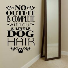 No Outfit Is Complete Without A Little DOG by GiftsWithMemories, $11.00