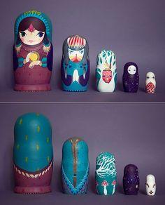 Nesting dolls / Matreshkas
