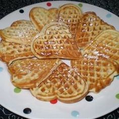 Scandinavian Sweetheart Waffles - Allrecipes.com