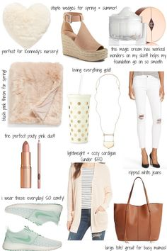 favorite things for spring and summer // A Touch of Pink Blog