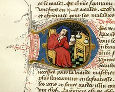 Fols. 53v, 54v, and 105v, Régime du corps (PML M.165), c. 1440-1450