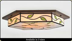 Craftsman Lighting Fixtures and Chanderliers Ceiling Mounted Light, Flush Ceiling Lights, Ceiling Light Fixtures, Ceiling Decor, Ceiling Lamps, Craftsman Chandeliers, Craftsman Lighting, Hanging Frames, Flush Lighting