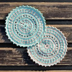 North Sea Mandala free #crochet pattern from Lilla Bjorn