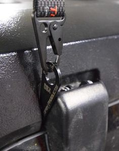 The Hinge Hook Hoist Bracket is a custom bracket that bolts to the outside of the rear glass hinges to allows lifting of the hardtop off your Wrangler. Designed to fit almost all Jeep Wranglers. Jeep Wrangler Hard Top, Jeep Hard Top, Jeep Wrangler Models, Jeep Wrangler Lifted, Jeep Wranglers, Jeep Jk, Wrangler Tj, Jeep Rubicon, Wrangler Unlimited