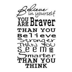 I believe in you & I always will baby...