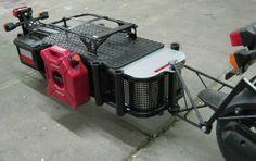 The scooter cargo trailer I designed and built for my Honda Ruckus tburick495@aol.com