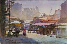 "Sawant, Prafull - ""Grand Bazaar at Bornova"""