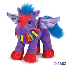 Webkinz Rainbow Pegasus $13.95, she'd look so perfect with Angel!
