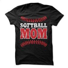 Softball Mom T-Shirt - design t shirts #tee #fashion