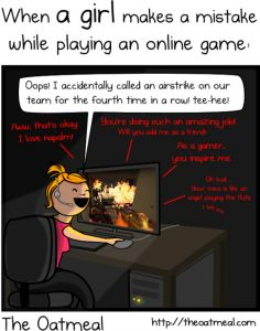 Props: How to Apologize on the Internet for a Gender-Related Mishap - huge props to the Oatmeal.