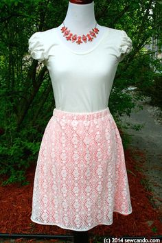 How To: Lace Layered Skirt